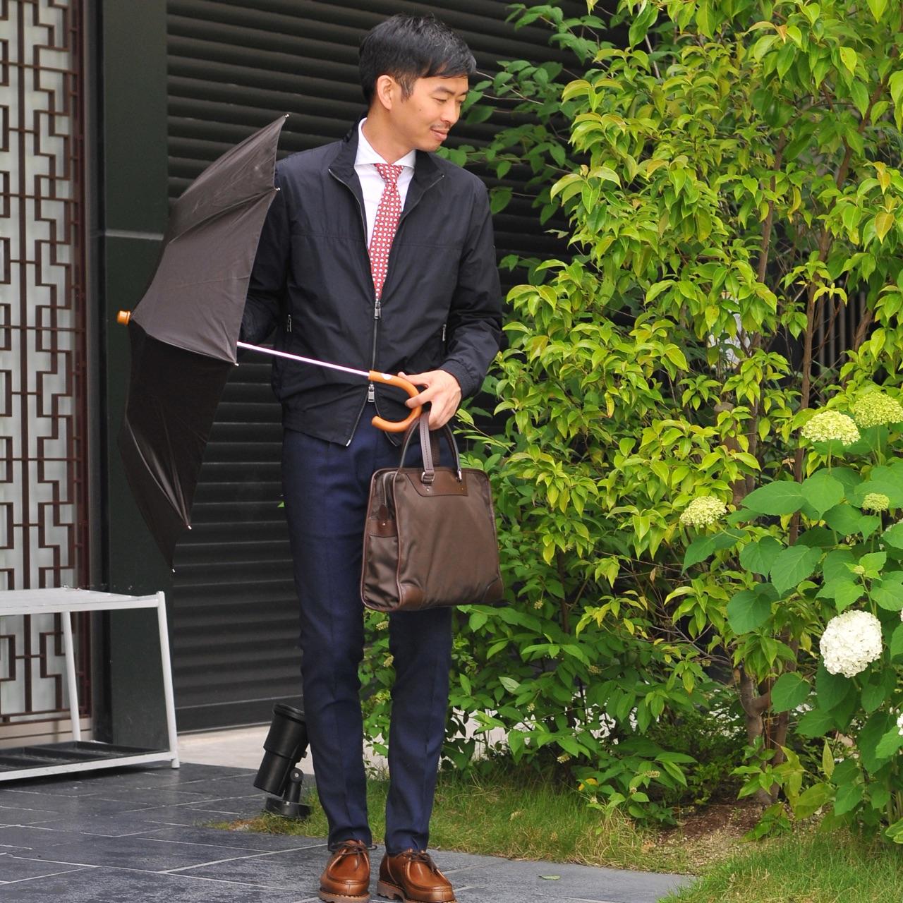 梅雨のビジネスシーン