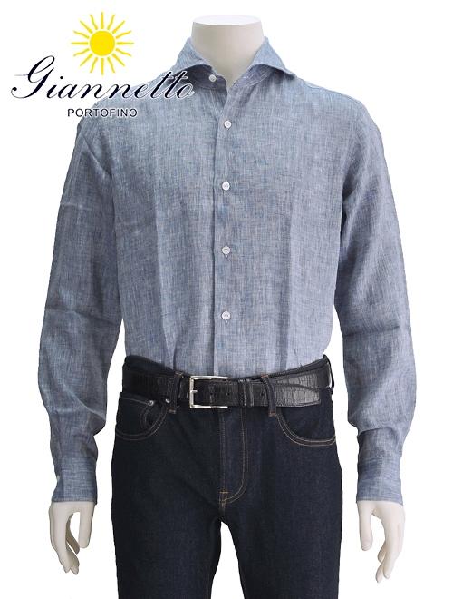 ジャンネット リネンシャツ