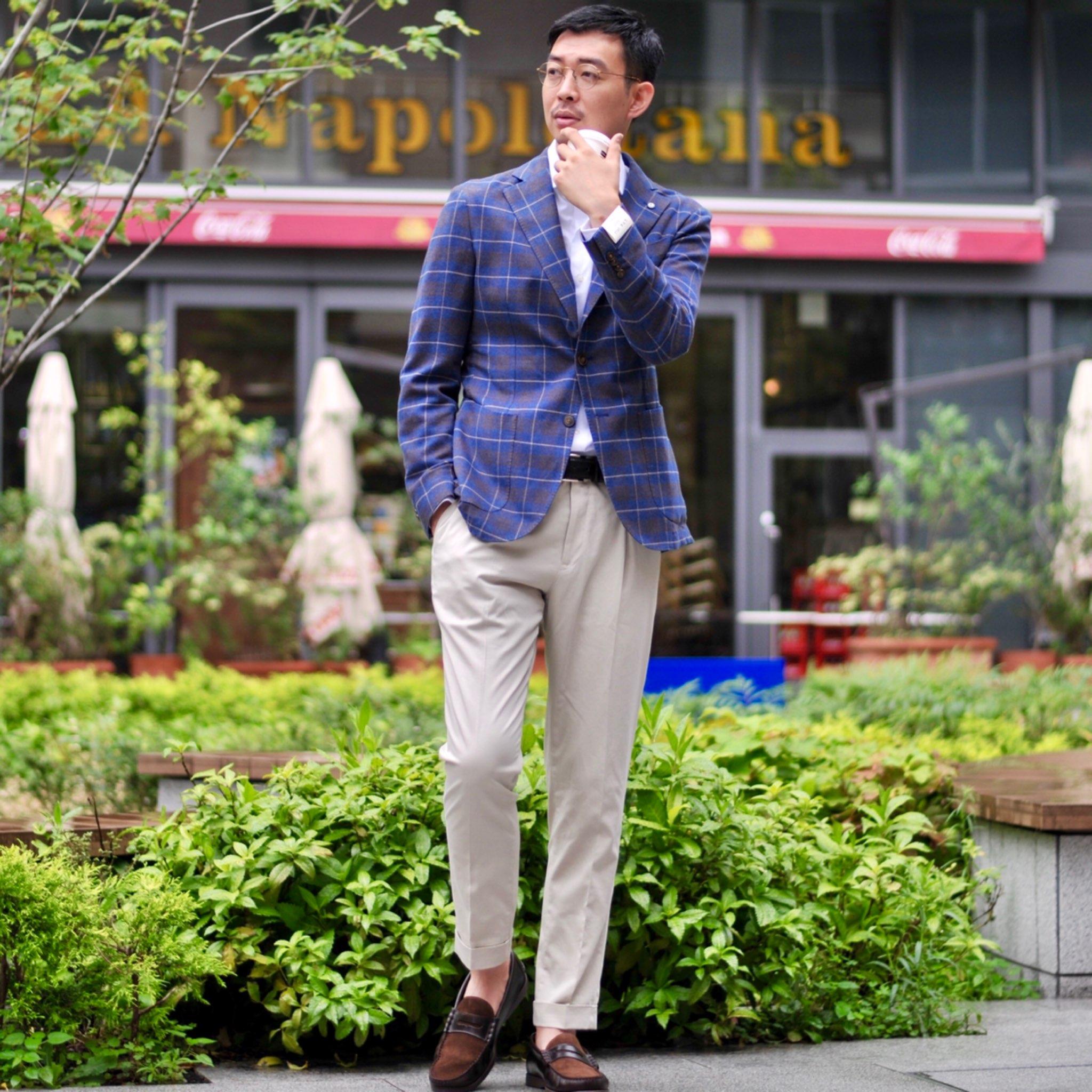 王道クラシカルな遊び心ある万能ジャケット