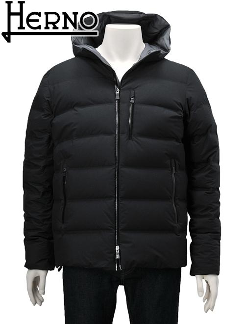 ヘルノ ラミナー ブラック ダウンジャケット