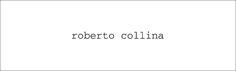 roberto collina ロベルトコリーナ