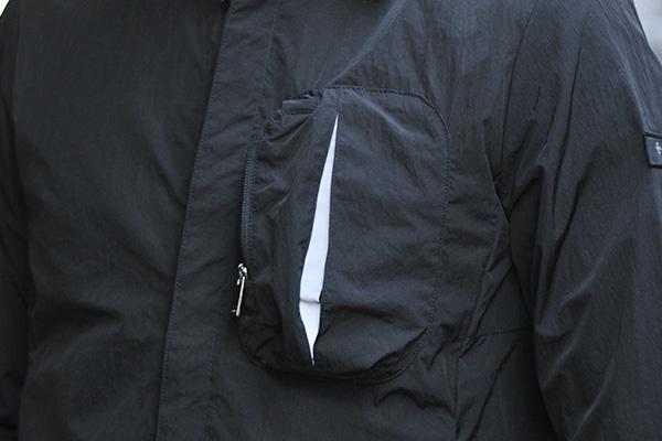 ナイロンシャツジャケット