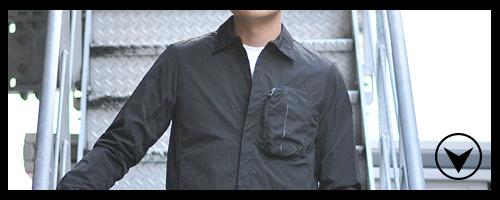 FLISCO ナイロンシャツジャケット