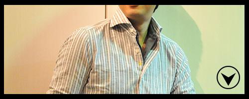 ジャンネット イタリア製 シャツスタイルもエレガントを伝えることは可能!