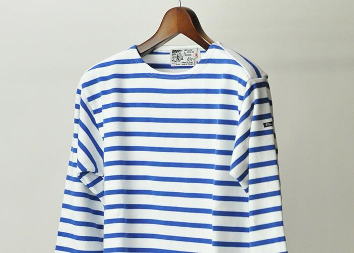 Fileuse d'Arvor(フィールズダルボー) バスクシャツ