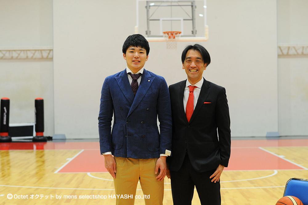 安藤周人選手インタビュー写真