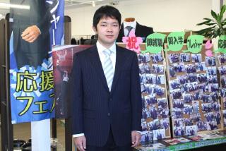 入学式はスーツもネクタイも爽やかなブルーで統一